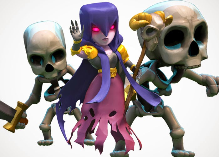 Clash Of Clans Characters Witches   Apps Directories