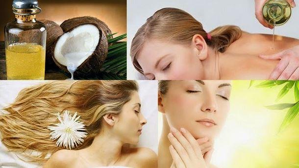 Kết quả hình ảnh cho tác dụng của dầu dừa trong chăm sóc da