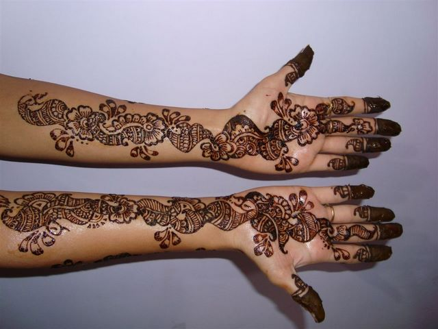 New Party Mehndi Designs : Party mehendi patterns designs