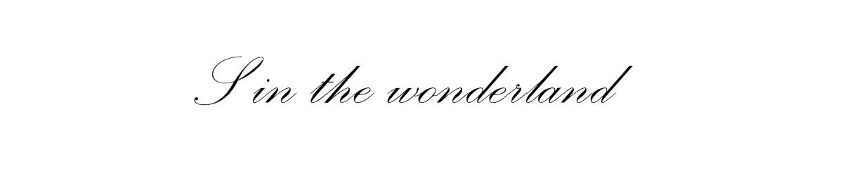 S in the wonderland
