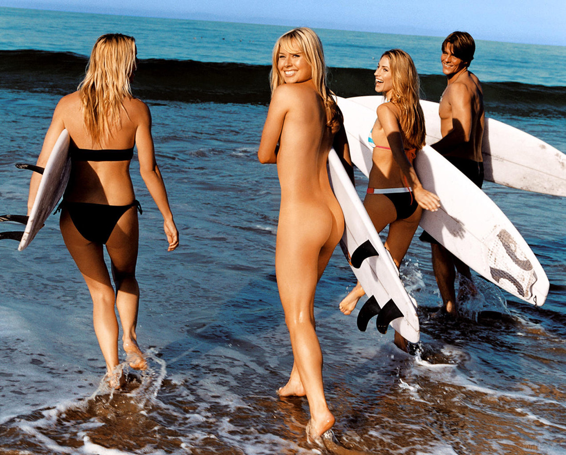 wave surfing nude pics