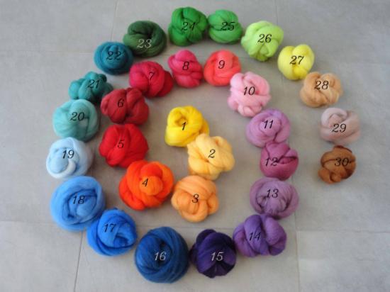 - Manualidades con lanas de colores ...