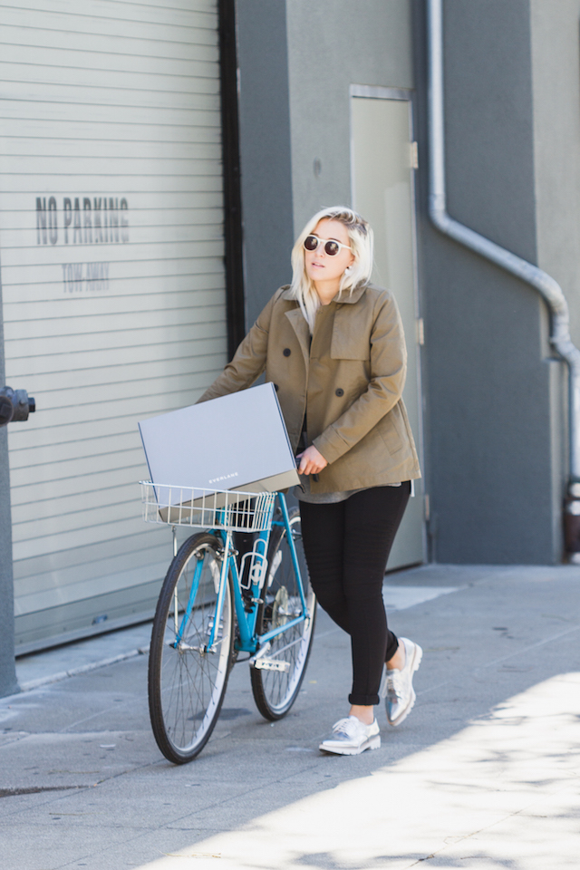 Bryn Newman of fashion blog Stone Fox Style talks about how to avoid a fashion mishap with Everlane's new Everlane Now delivery service.
