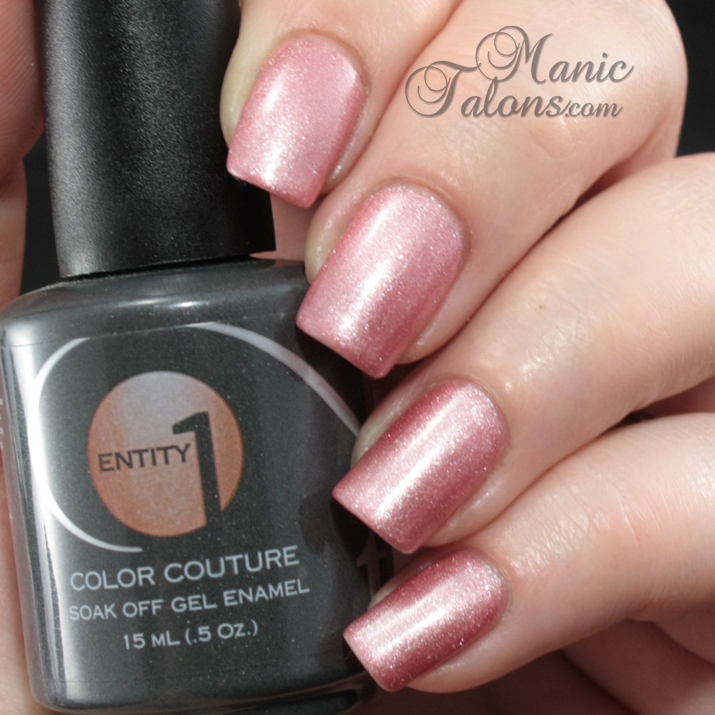 Entity1 Color Couture Soak Off Gel Polish Slip Into Something Comfortable Swatch