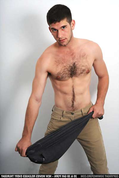 image of male body hair