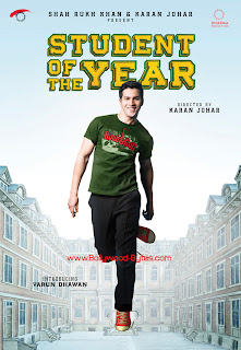 First Look Posters - Student Of The Year - Introducing Varun Dhawan
