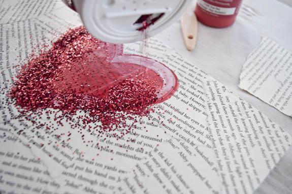 El Yapımı Romantik Duvar Tablosu Adım 8
