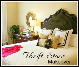 Thrift Store Makeover - Master Bedroom