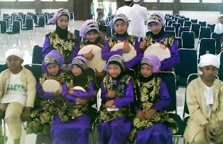 Kelompok Musik Qosidah Kontemporer Anak-anak TPQ. Ar-Rasyid