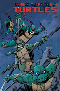 The cover of Teenage Mutant Ninja Turtles # 11 from IDW Publishing.