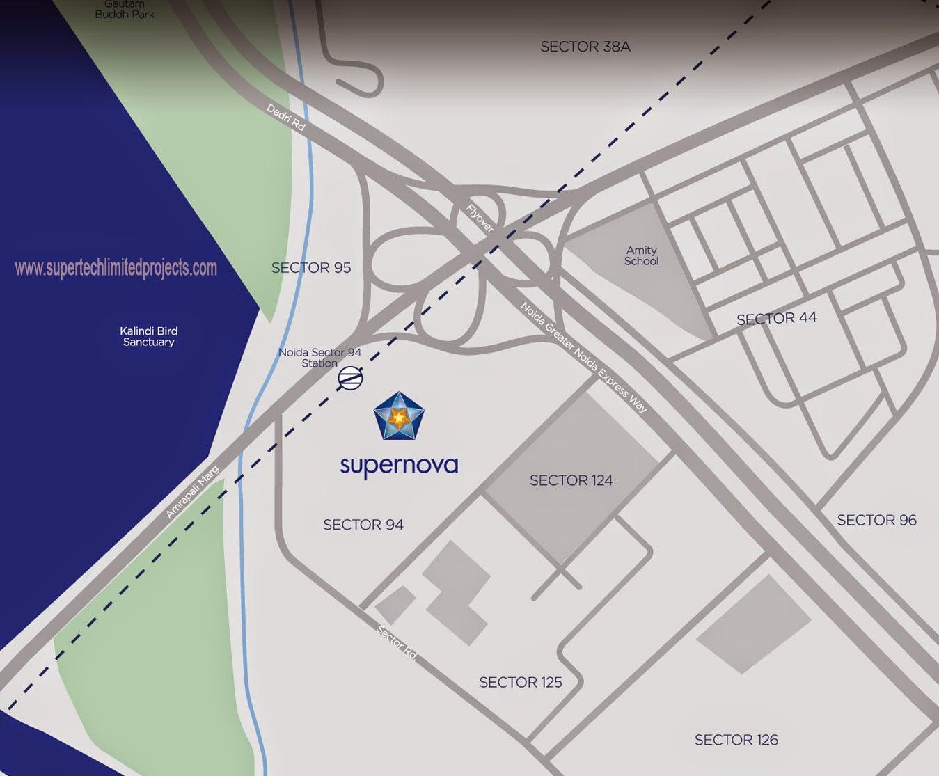 Supernova :: Location Map 2