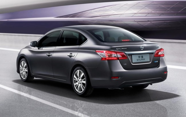 New nissan sentra sylphy 2013 is oficially revealed in china garage car