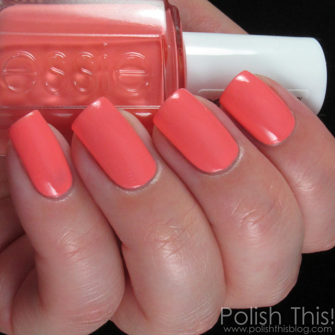 Essie Nail Polish Light Peach | Hession Hairdressing