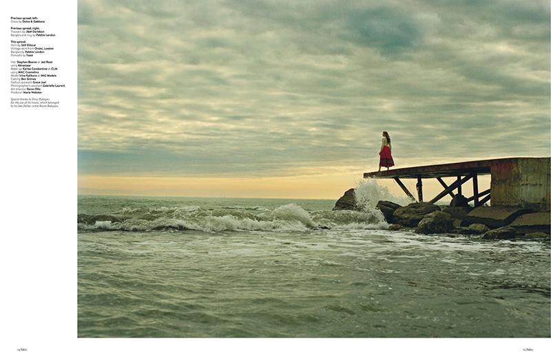 Bohemian Like You: Irina Kulikova By Emma Hardy For Baku Summer 2015