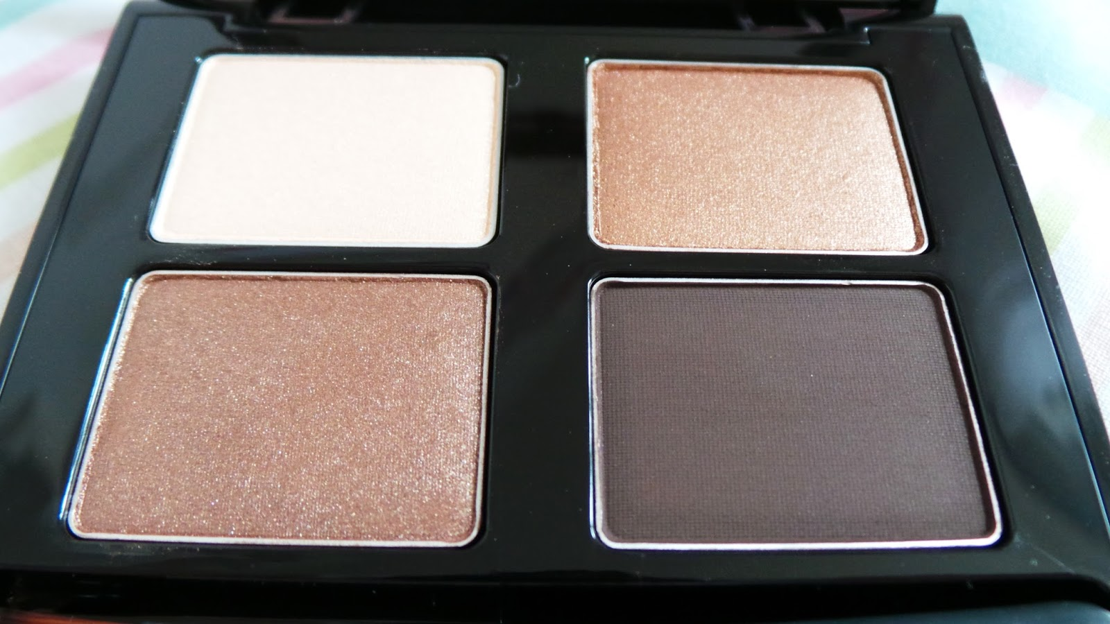 Review Blog Photo Eye Swatch The Body Shop Smoky Eyes Kit