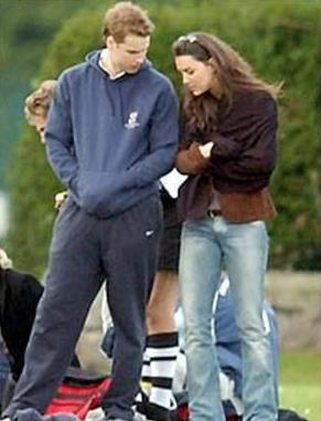 william and kate first started dating someone