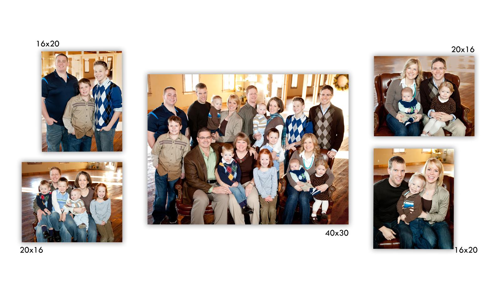 Memory Montage Photography Blog Family Portrait Arrangements
