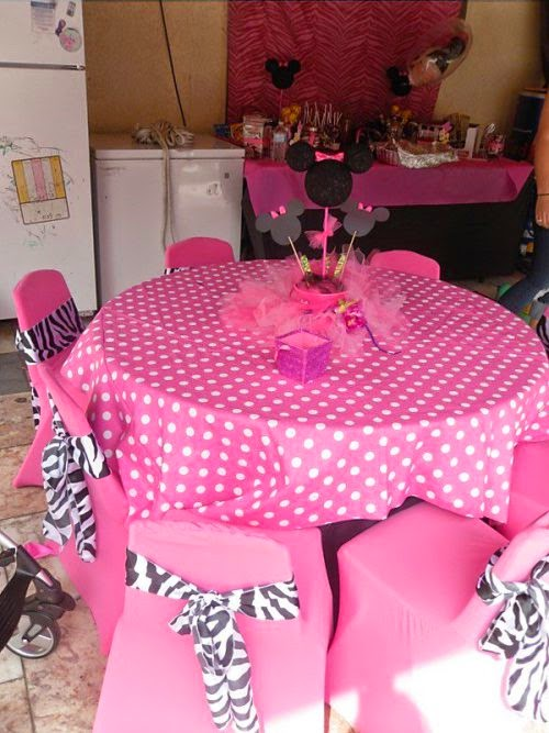 cute minnie party decoration oh my fiesta in english. Black Bedroom Furniture Sets. Home Design Ideas