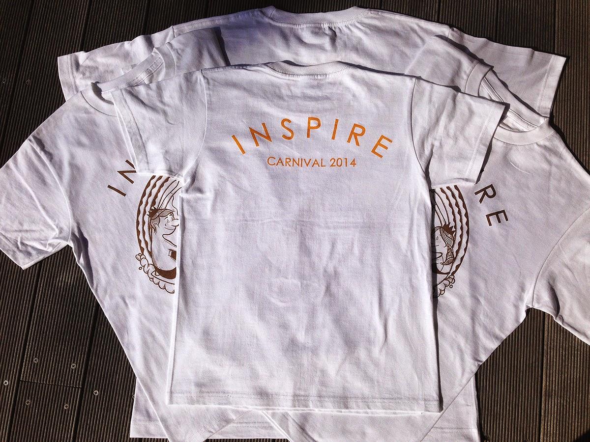 INSPIRE CARNIVAL 2014 記念Tシャツ