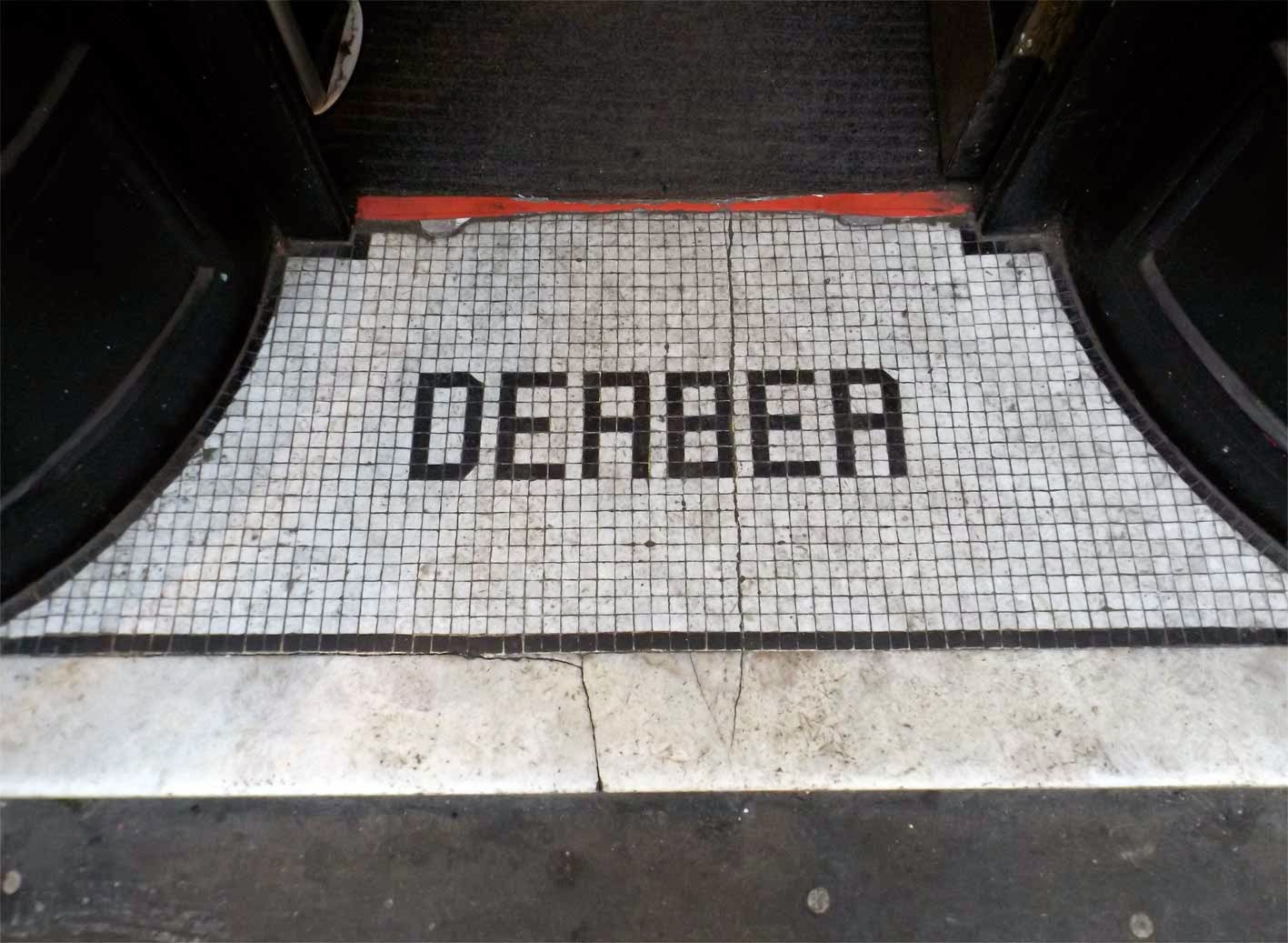 derber show shop mosaic wardour street london