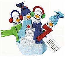 CLICK for SNOWMAN GLOVE Puppet Instructions