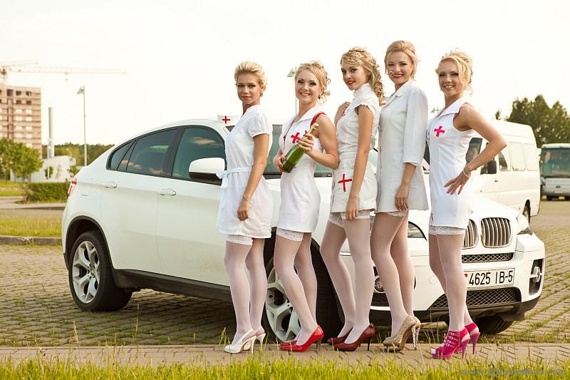Two blonde nurses russian lesbians go crazy 10