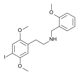 25I-NBOMe is a derivate of phenetylamine