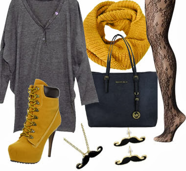 Cute fashion outfits ideas 2013 for winter new women s clothing
