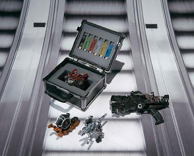 S.I.C. Kamen Rider W FangJoker & Skull Set