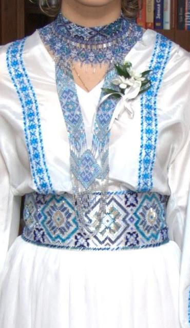 Весілля в українському стилі, вбрання нареченої