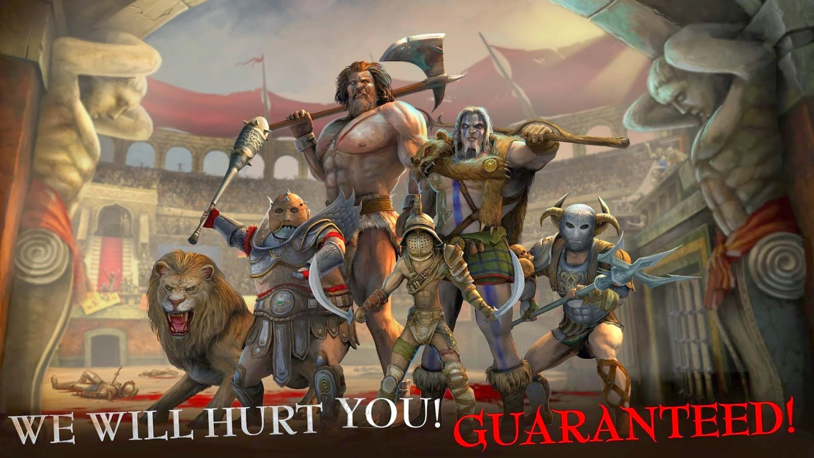 I, Gladiator v 1.10.0.21621 Mod Apk screenshot by jembercyber