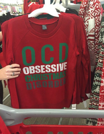 Target Addict Target Under Fire For Ocd Sweater