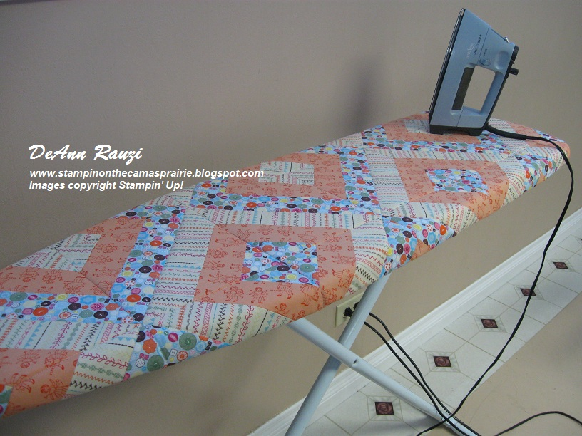 Stampin' on the Prairie: Sweet Stitches Ironing Board Cover : quilted ironing board cover - Adamdwight.com
