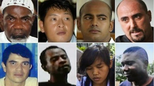 nigerians executed indonesia