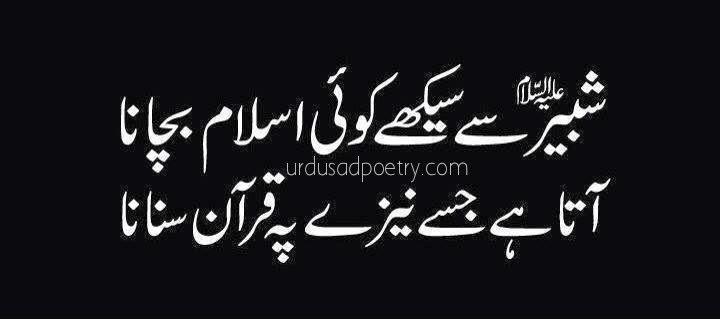 Shabeer Se Seekhy