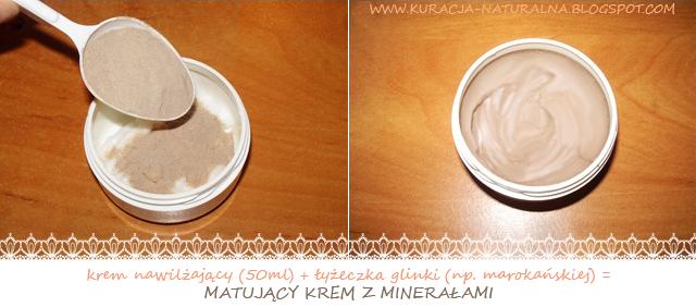 Matujący Krem Z Glinką Z Minerałami Naturalne Metody