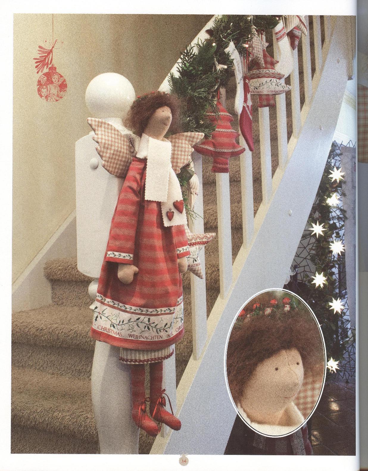 Кукла тильда на новый год