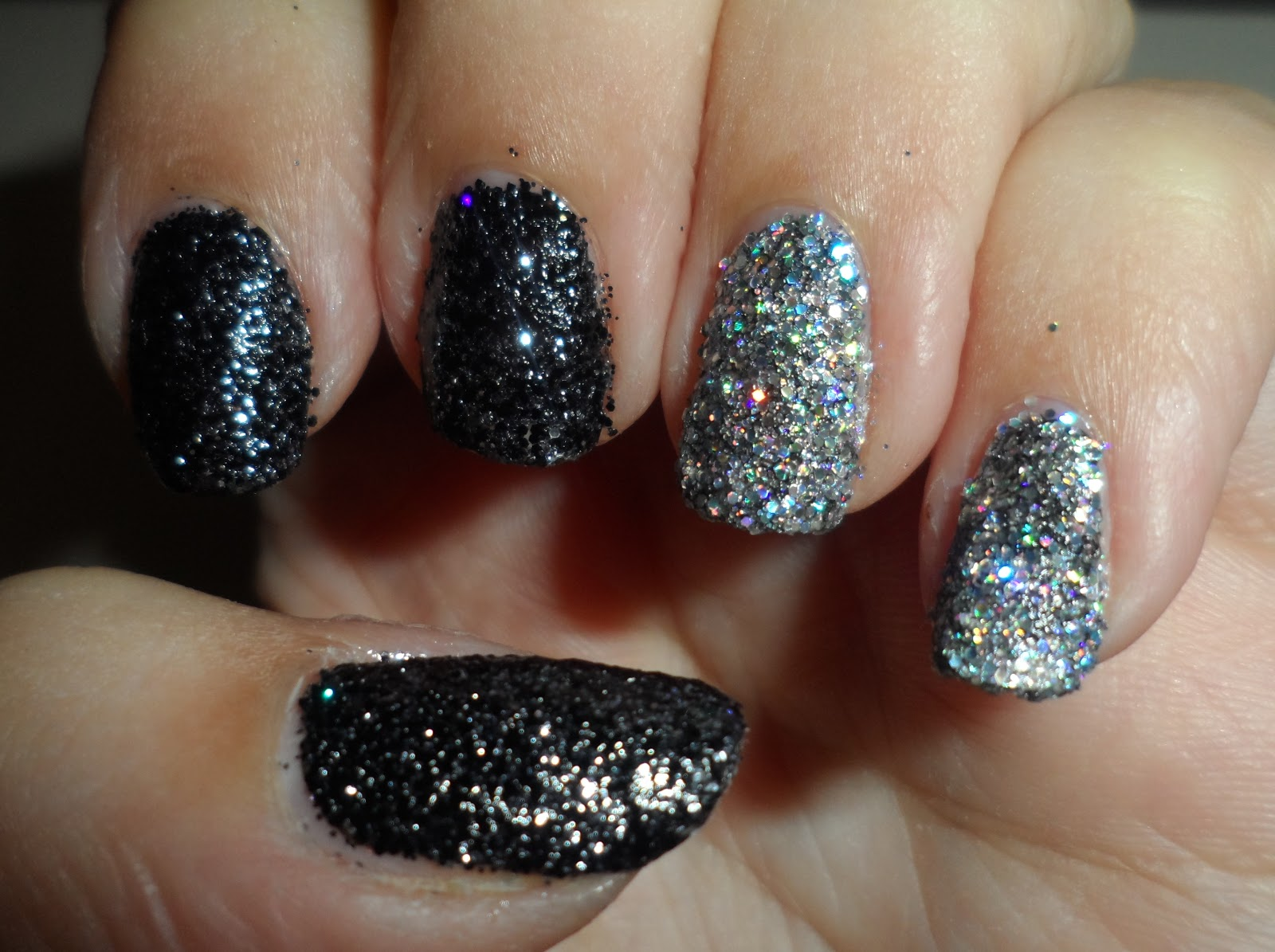 Notd Nails Inc Bling It On Rocks Extreme Sparkly Glitters Flutter And Sparkle