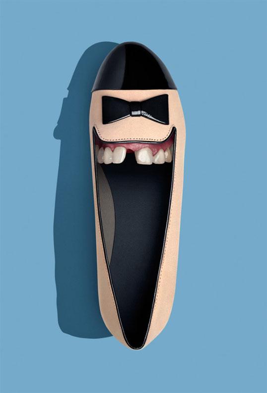 Estos zapatos fueron hechos para caminar (y sonreír con los dientes!)