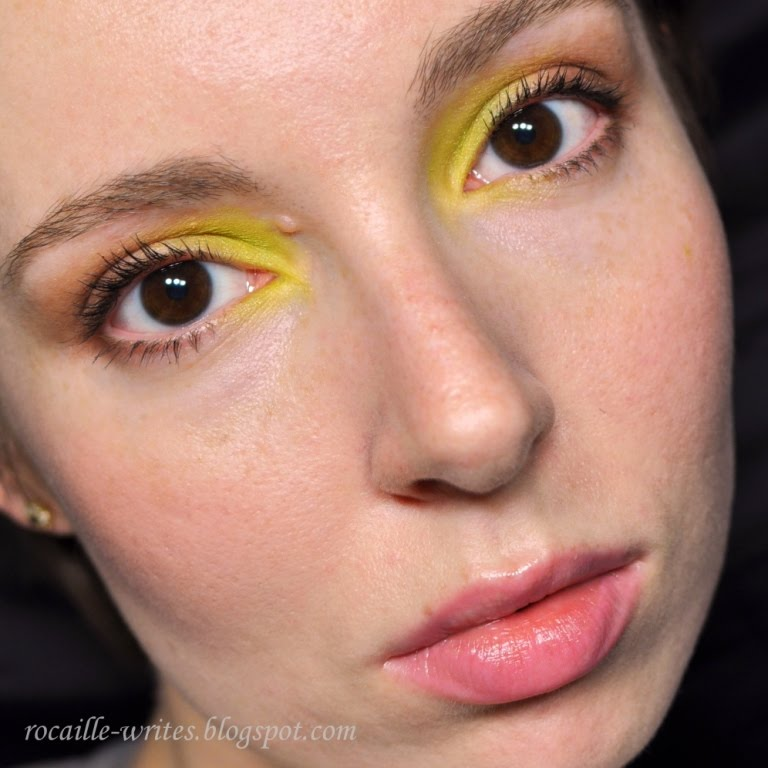 Yellow Eyeshadow | Colorful Eyeshadow Tutorials For Brown Eyes