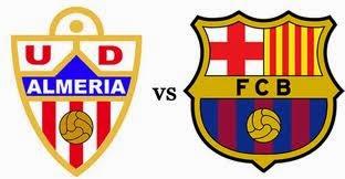 مشاهدة مباراة برشلونة والميريا بث مباشر اليوم 2-3-2014 مباراة برشلونة والميريا