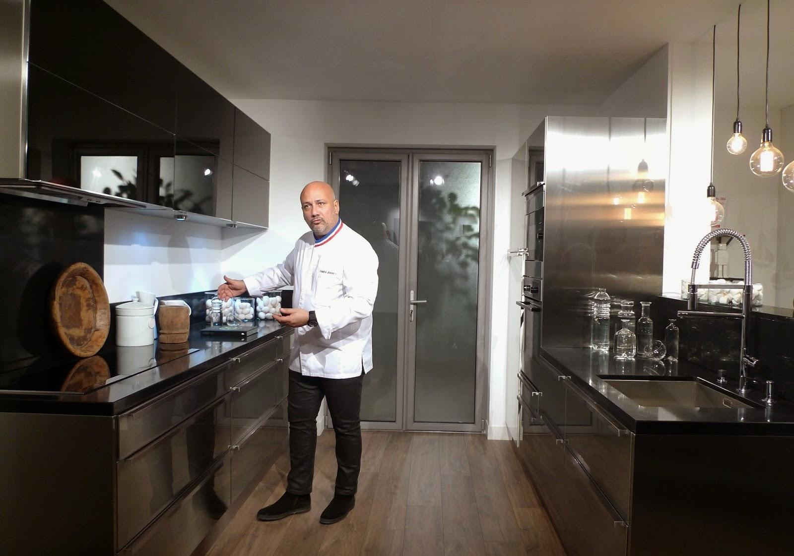 Lapeyre et fr d ric antonla d nicheuse for Robinet cuisine lapeyre