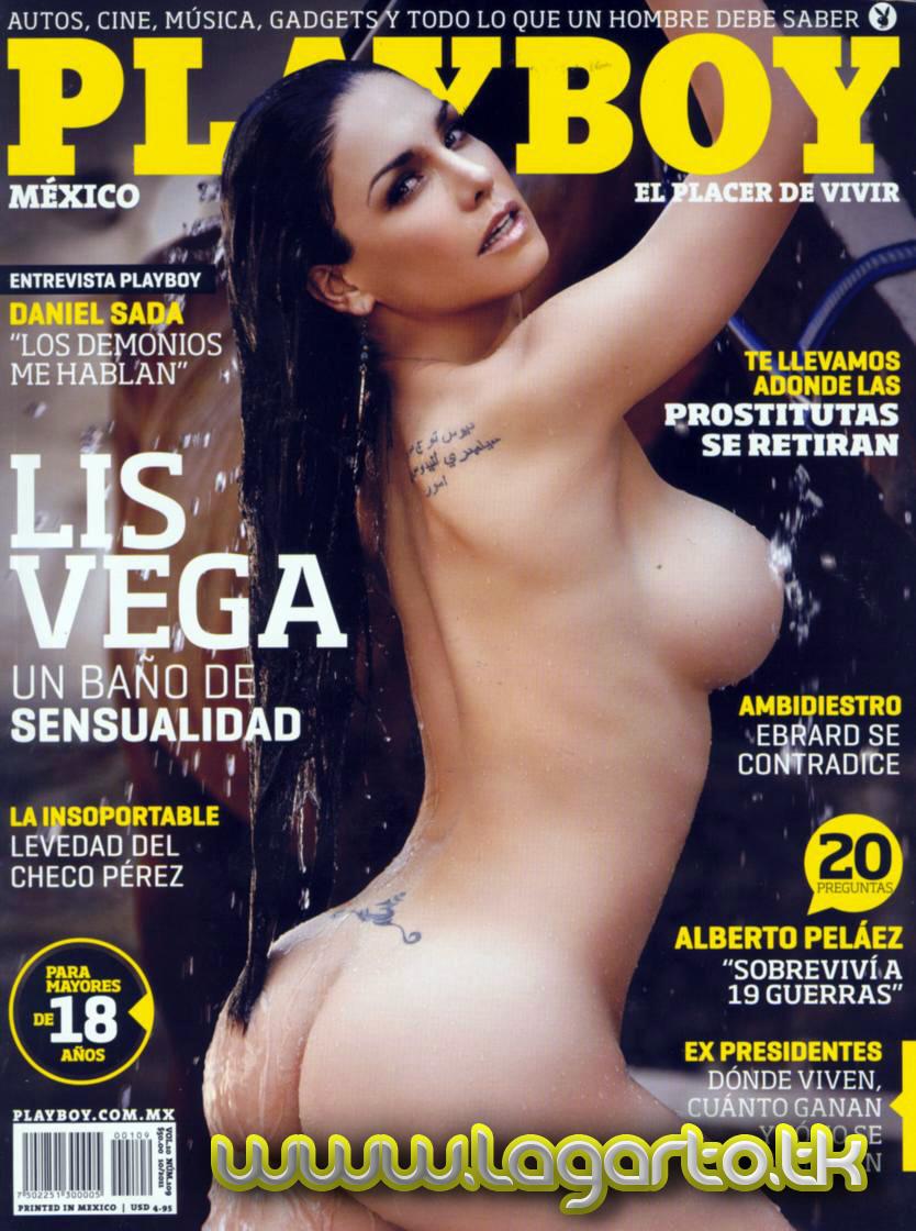 Revista Playboy Mexico Noviembre Liz Vega