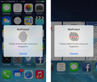Cydia: BioProtect and AppLocker protect applications with Touch ID