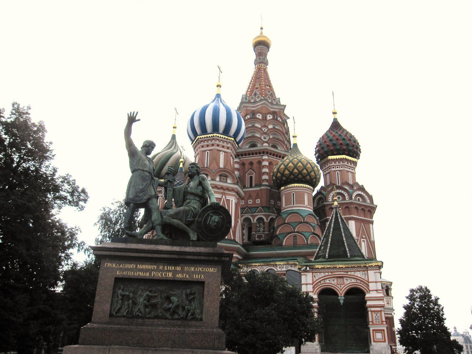 赤の広場のポクロフスキー聖堂 難しい、教会・聖堂の名前