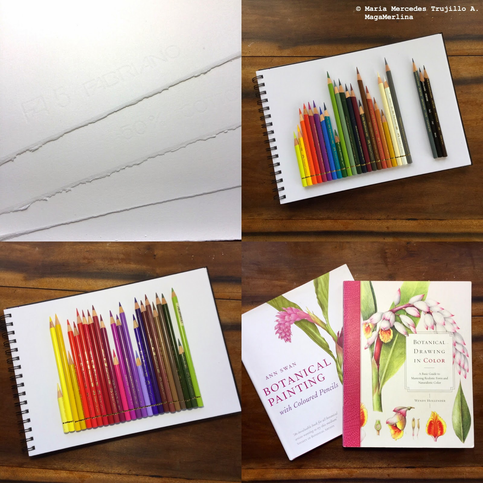 Colored Pencils Names Colored Pencil Work