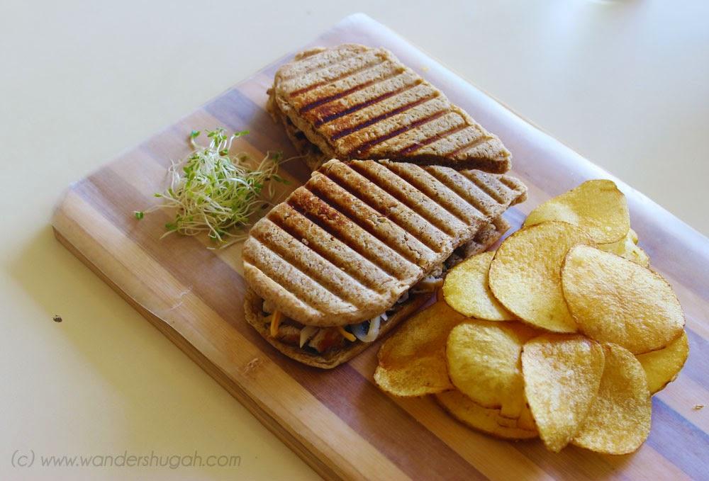 Chicken Pesto Sandwich of Sab Bistro Sab Bistro, Angeles City, Pampanga