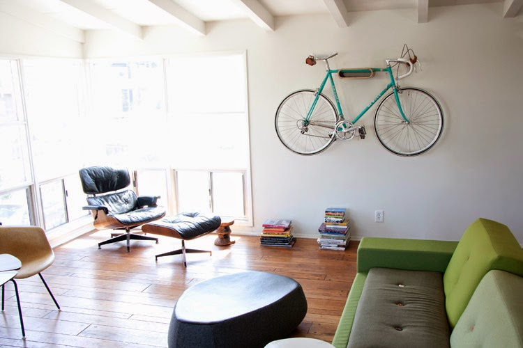 indoor bicycle racks ideas