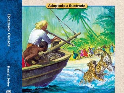 O Prazer da Leitura da Abril Coleções: Robinson Crusoé
