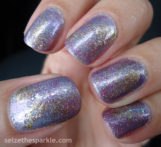 Shimmery Seriotype Manicure